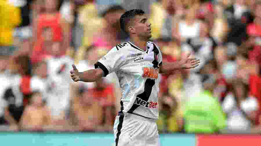 Atacante Tiago Reis poderá ser o substituto de Maxi Lopez no Vasco na partida contra o Fortaleza - Thiago Ribeiro/AGIF