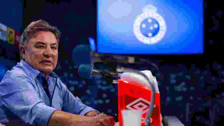 Perrella rasgou o verbo chamou gestão atual e anterior do Cruzeiro de irresponsáveis - Bruno Haddad/Cruzeiro