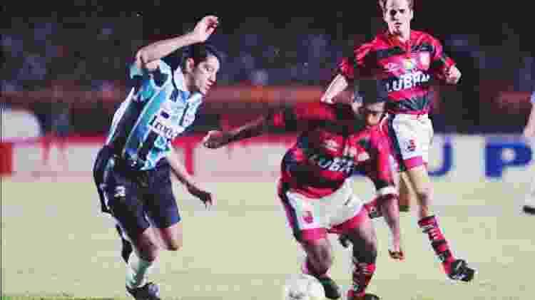 Grêmio 97 - Rosane Marinho/Folhapress - Rosane Marinho/Folhapress