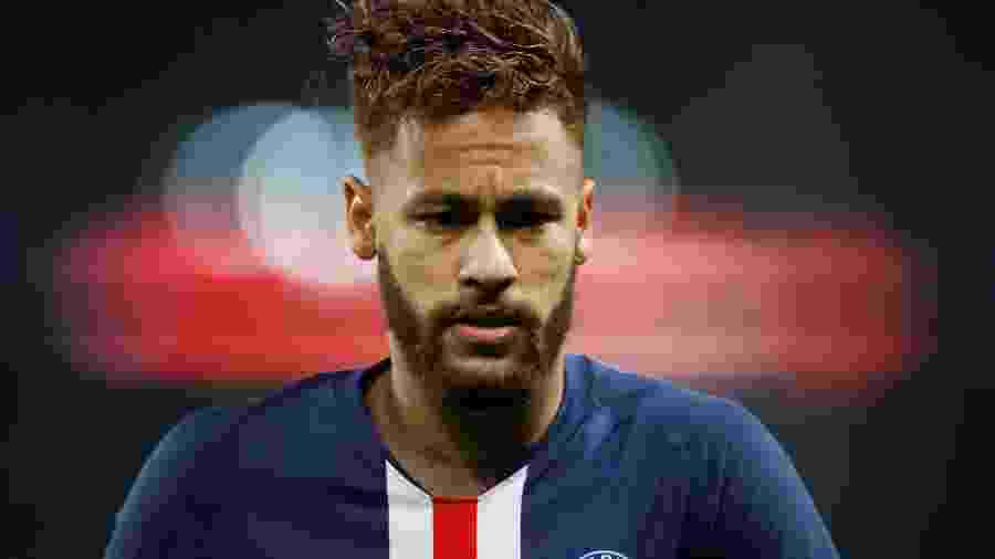 Neymar, atacante do PSG - Christian Hartmann/Reuters