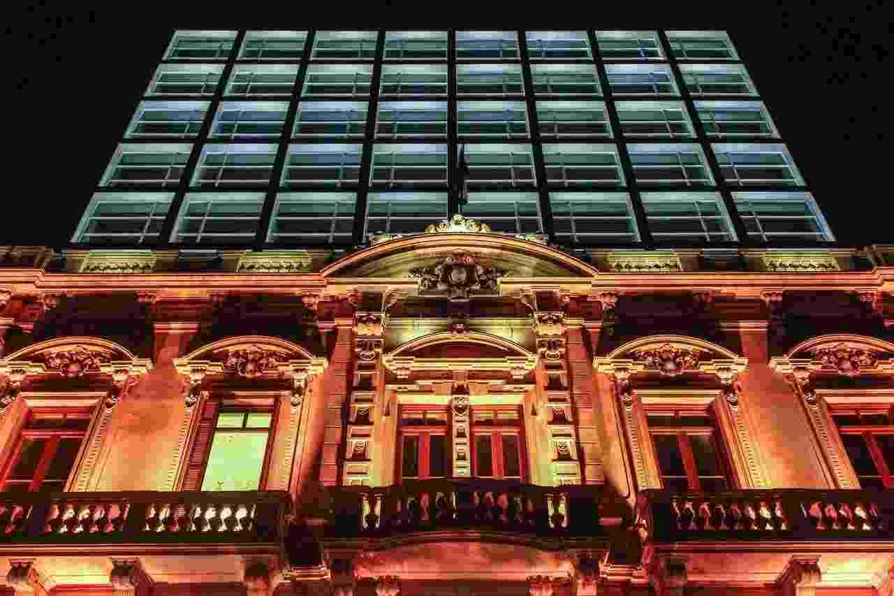 Hotel Palmaroga fachada Ronaldinho - Divulgação