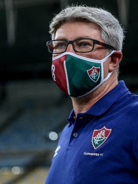 Odair Hellmann questiona por que as finais serão neste domingo e na quarta se o Brasileiro só começa em 9 de agosto - Lucas Mercon/Fluminense FC