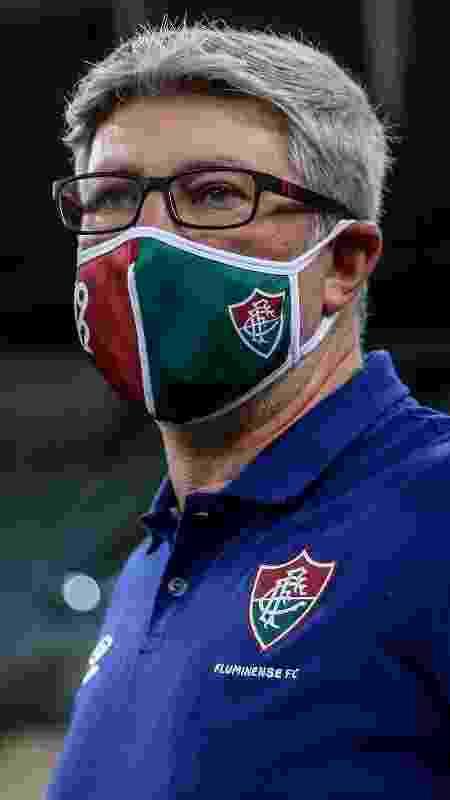 """Odair Hellmann """"foi à forra"""" contra Jorge Jesus e Fluminense bateu o Flamengo na Taça Rio - Lucas Mercon/Fluminense FC - Lucas Mercon/Fluminense FC"""