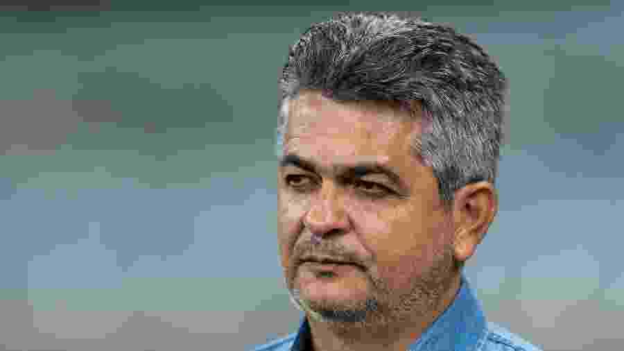 Treinador teve duas vitórias em sete jogos no comando do Cruzeiro - Bruno Haddad/Cruzeiro