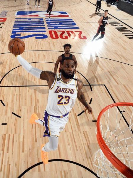 LeBron James no jogo seis das finais da NBA - Divulgação/NBA