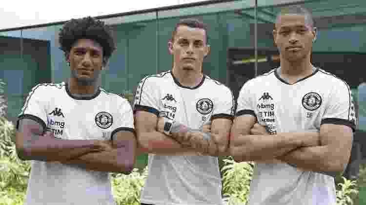 Talles Magno, Bruno Gomes e Lucão, trio do Vasco convocado para a seleção sub-20 - Rafael Ribeiro/Vasco - Rafael Ribeiro/Vasco