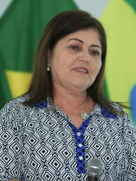 Maria Luciene Resende, presidente da Confederação Brasileira de Ginástica - Ricardo Bufolin/CBG