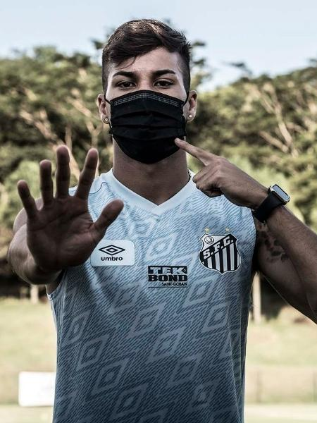 Kaio Jorge, atacante do Santos - Ivan Storti/Santos FC
