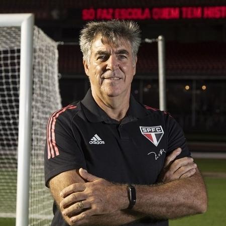 Zetti, coordenador da preparação de goleiros das categorias de base do São Paulo - Rubens Chiri/saopaulofc.net
