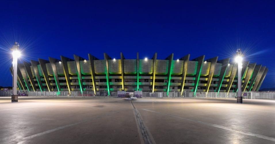 A seleção brasileira sempre se deu bem quando encarou a Argentina no Mineirão, em Belo Horizonte