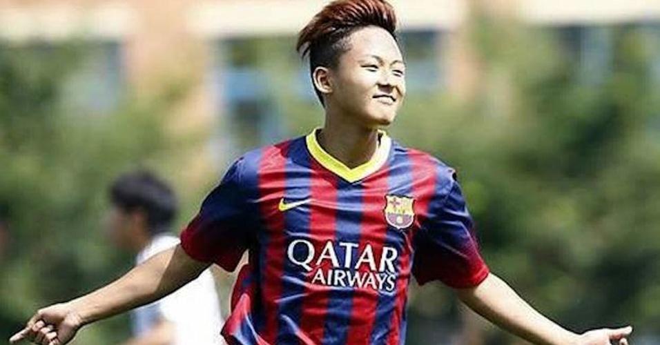 Seung Woo Lee foi apelidado de Messi coreano no Barça após sucesso na base