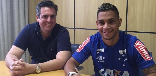 Lateral esquerdo é o terceiro reforço do Cruzeiro para o Brasileirão