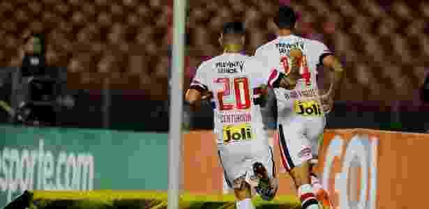 Alan Kardec marcou para o São Paulo após longo período sem balançar a rede - Rubens Cavallari/Folhapress