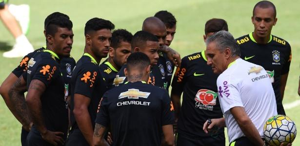 Tite comanda último treino do Brasil no Mineirão antes de clássico contra a Argentina