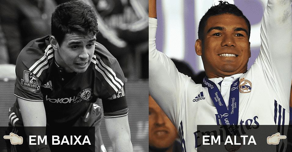 Veja quais foram os brasileiros que se deram bem ou que se desvalorizaram no futebol europeu durante o ano - Alex Morton/Getty Images, Michael Steele/Getty Images