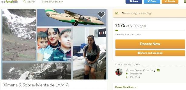 Ximena pede ajuda na internet para sustentar os filhos e para o seu tratamento