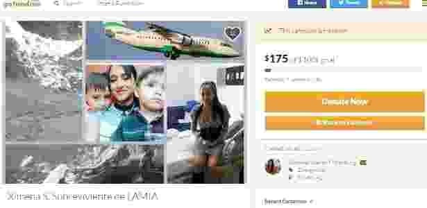 Ximena pede ajuda na internet para sustentar os filhos e para o seu tratamento  - Reprodução