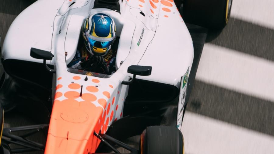 Sergio Sette Camara, piloto da F-2 - FIA F2 - Divulgação