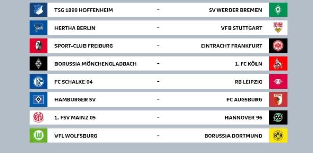 Rodada inicial do Campeonato Alemão terá Bayern x Leverkusen e mais 8 jogos