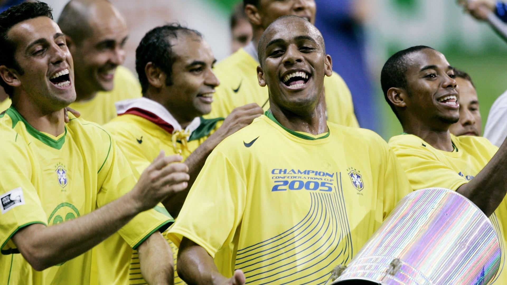 Edu Gaspar na copa das Confederações de 2005