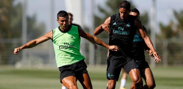 Cristiano Ronaldo retornou ao Real Madrid após as férias