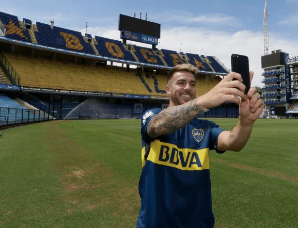 Buffarini acertou contrato de três anos e meio com a tradicional equipe de Buenos Aires