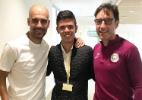 Com ajuda de Danilo, auxiliar do Santos faz estágio com Guardiola e Gerrard - Arquivo pessoal