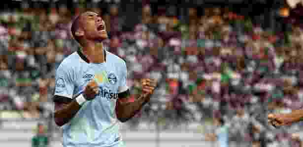 Madson, lateral direito, chegou ao Grêmio em 2018 e pode ir para o Botafogo - Lucas Uebel/Grêmio