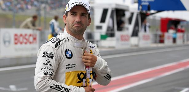 Timo Glock está com 36 anos e compete no DTM, o campeonato alemão de carros turismo
