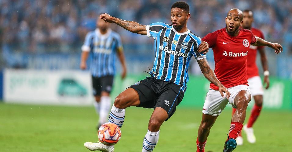 André, durante clássico entre Grêmio e Inter