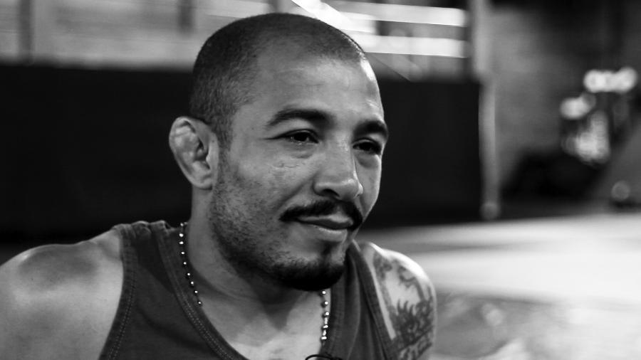 Lutador de MMA José Aldo dá entrevista ao UOL Esporte em sua academia no Rio de Janeiro - Taís Vilela/UOL