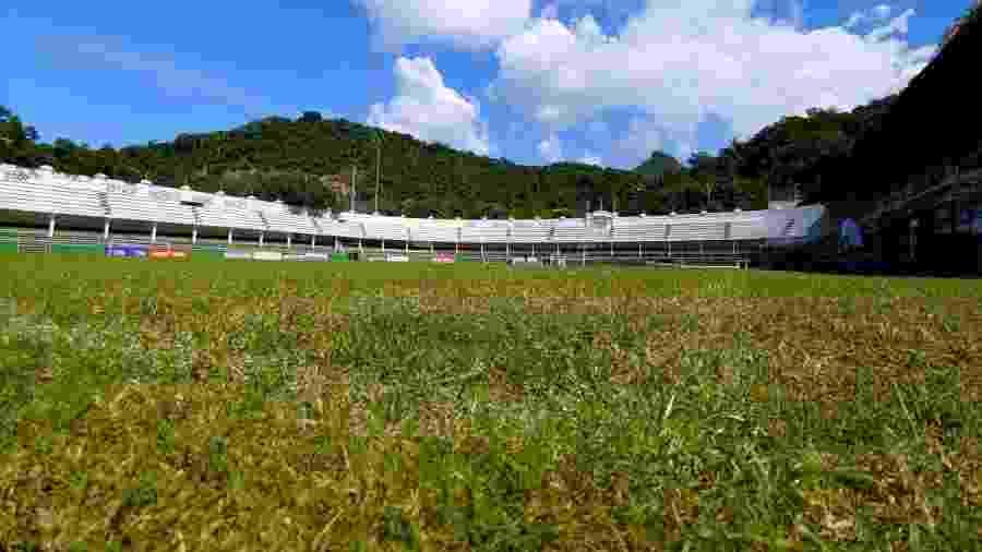 Fluminense celebrou os 100 anos do estádio das Laranjeiras no último dia 11 de maio  - Divulgação/Fluminense