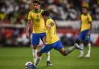 Coutinho derruba jejum de 5 anos sem gols de falta na seleção brasileira - Pedro Martins/MowaPress