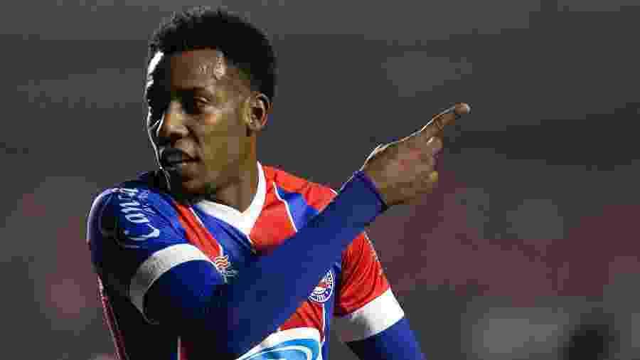 Moisés, lateral do Bahia, será emprestado ao Internacional por uma temporada - Daniel Vorley/Daniel Vorley/AGIF