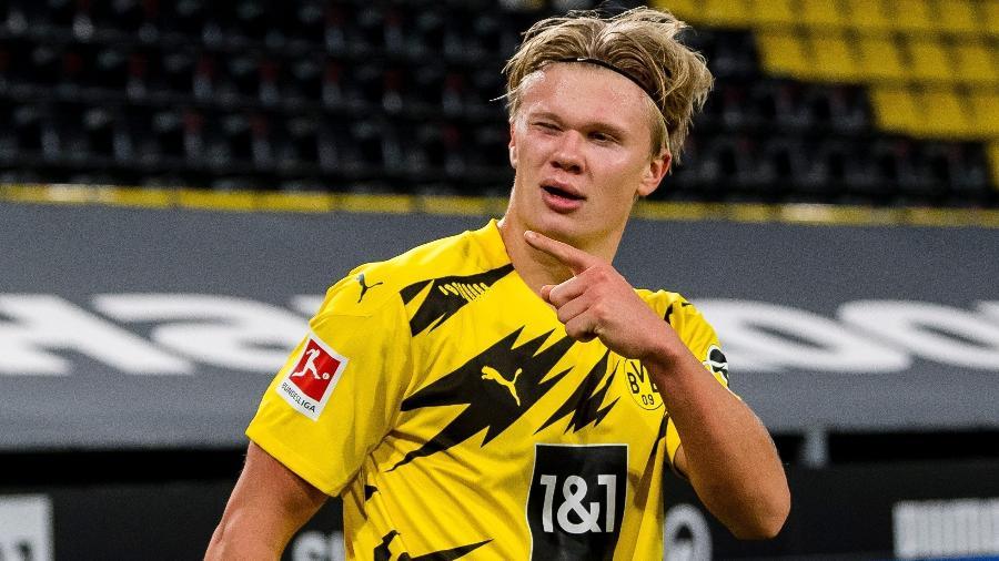 Erling Haaland é o jogador sub-20 mais badalado do planeta - Reprodução