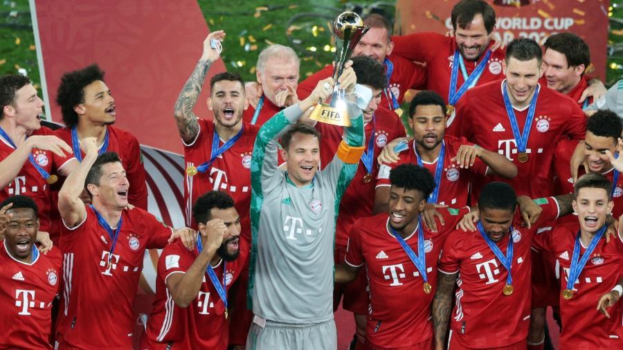 Bayern de Munique é campeão do Mundial de Clubes da Fifa - MOHAMMED DABBOUS/REUTERS