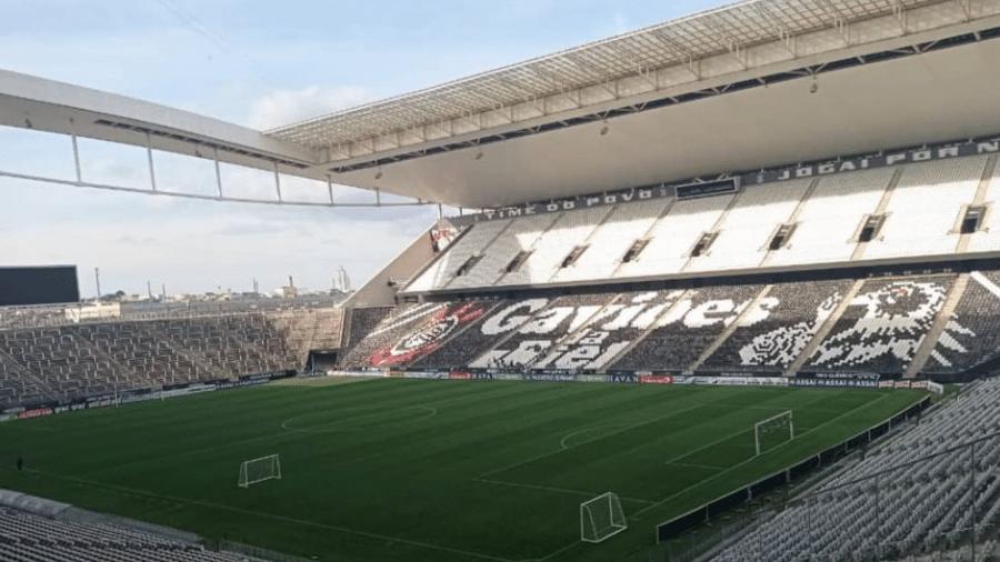 Corinthians decide vaga nas semis do Campeonato Paulista na Neo Química Arena  - Reprodução/Instagram/Gaviões da Fiel