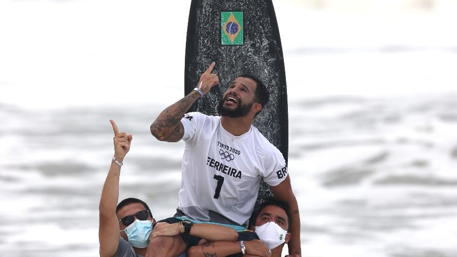 [Italo Ferreira campeão olímpico em Tóquio - Ryan Pierse/Getty Images