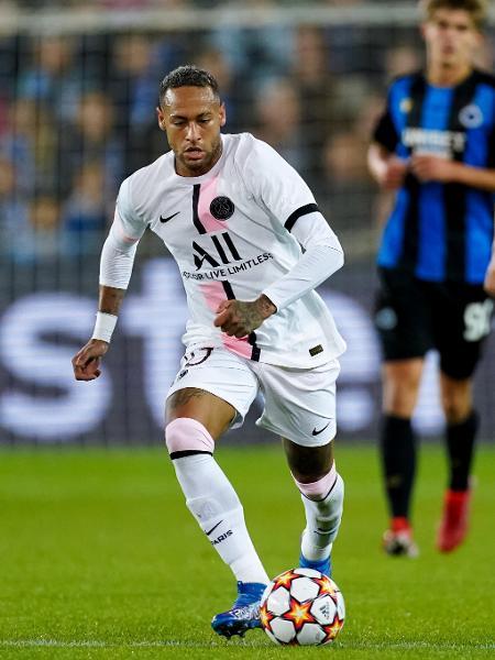 Neymar em ação pelo PSG - Joris Verwijst/BSR Agency/Getty Images