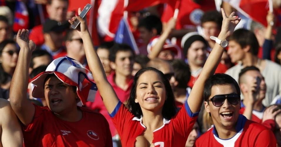 Musa da Bolívia virou a casaca na final e passou a torcer para o Chile