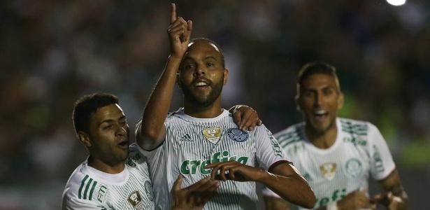 Palmeiras jogou em Londrina na reta final do Brasileirão em 2016, contra o América-MG, e acabou campeão - César Greco/Agência Palmeiras