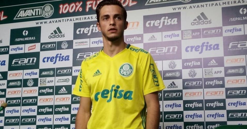 Hyoran é apresentado no Palmeiras nesta sexta-feira (13)