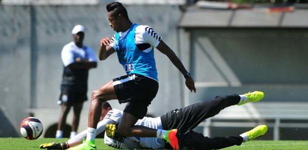 Bruno Henrique foi o último dos reforços apresentados pelo Santos