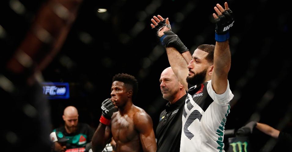 Belal Muhammad (EUA) é anunciado vencedor do combate contra Randy Brown, da Jamaica