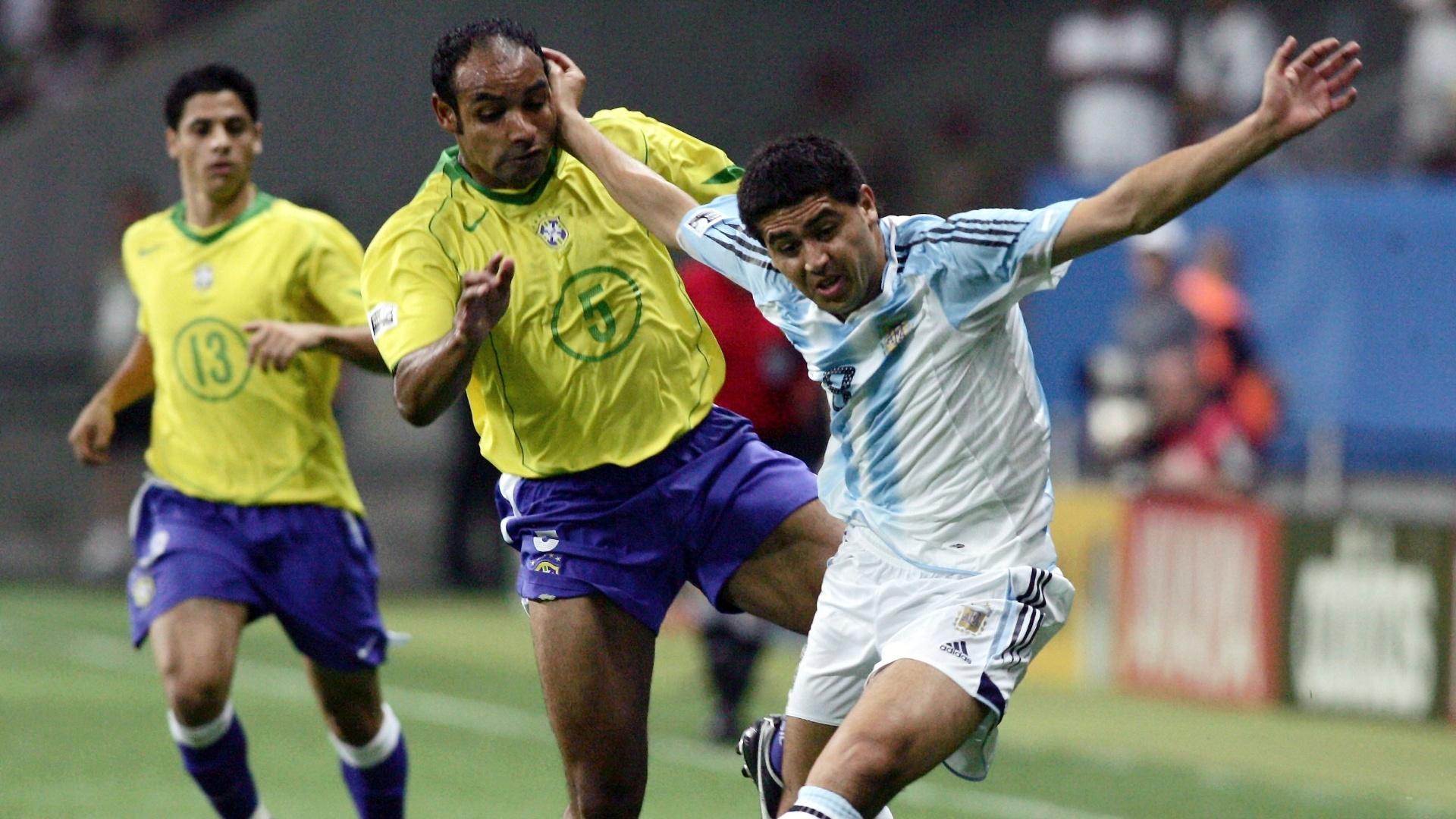 Emerson durante a Copa das Confederações de 2005