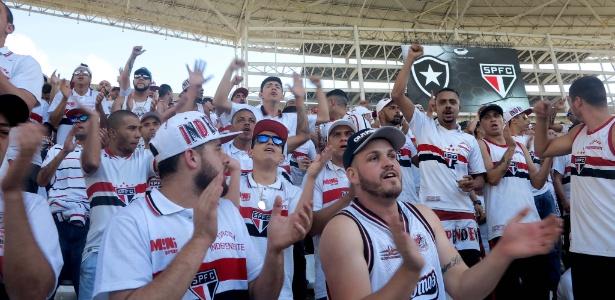 Postagem da Rádio Botafogo irritou bastante os são-paulinos antes do duelo no Morumbi - Adriano Wilkson/UOL