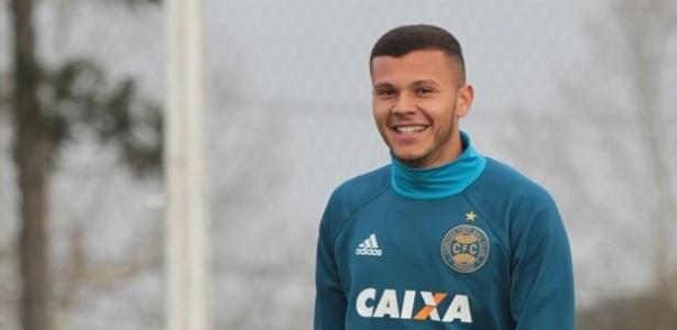 Thalisson Kelven, de 19 anos, começará titular pelo Coxa contra o São Paulo - Comunicação CFC