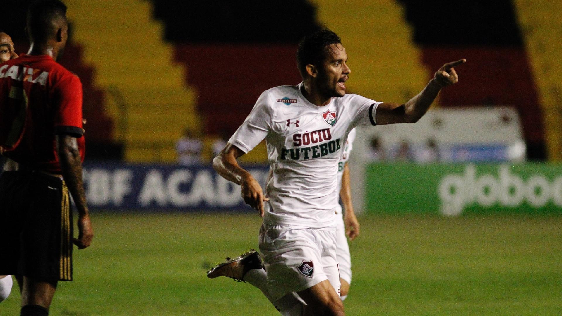 Gustavo Scarpa volta a marcar pelo Fluminense após longo jejum de gols