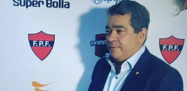 Amadeu Rodrigues, presidente da Federação Paraibana de Futebol (FPF)