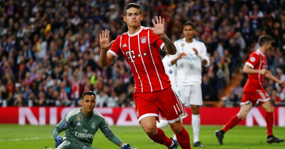Ex-Real Madrid, James Rodríguez não comemorou o gol marcado diante do seu antigo clube